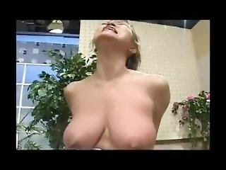 Woman With Asymmetric Tits Gets Boob Slapped And Belly Punched