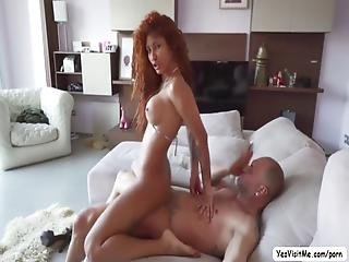 Venus With Her Very Nice Tits Gets Fucked In Her Tight Ass