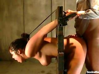 Bondage Tube: Best Of Candice Michelle Bound And Gagged Topless Feet