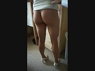 Asian, Ass, Babe, Big Ass, Legs, Skirt, Teasing, Upskirt
