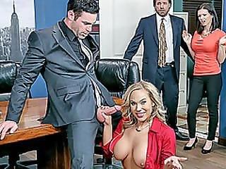 Office Slut Olivia Austin Roughly Fucked By The Boss