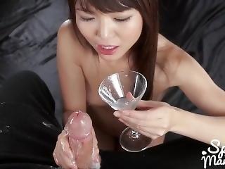 Shino Aoi Group Messy Handjob