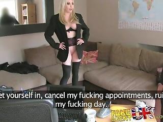 Amateur, Anal, Blondine, Ficken, Harter Porno, Büro, Pornostar