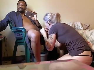 Slave Girl Obeys Master