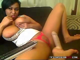 Big Black Butt On Webcam - Camtocambabe.com