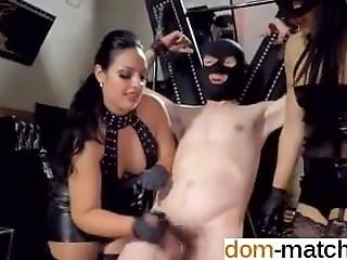 She Is On Dom-match.com - Poor Guy With Incredible Cumshot