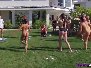Crazy Swingers Having An Amazing Outdoor Fun