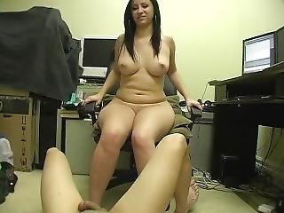 Latina Femdom Ballbusting Bitches - Scene 1