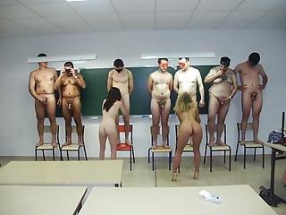 2 Milf Teachers Share Cocks In Classroom