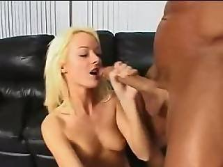 Southern Golden Haired Rides Big Rod Anally