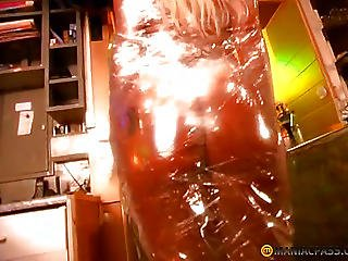 Body Blonde Wrapped Tight Film