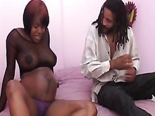Black Amateur Pregnant Babe Missionary Long Cock
