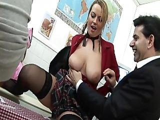 Pta Meeting Turns Into All Out Big Booty Orgy-charlee Chase