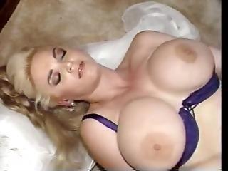 Big Boob Blonde Cannot Resist Having Black Semen Inside Of Her