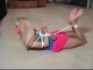 blondin, bondage, fetish, klavbinda, bunden