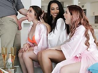The Bridesmaids Decide To Call Up The Brides Ex Boyfriend For One Last Hurrah