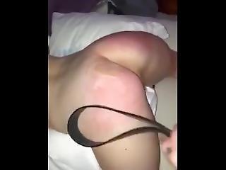 Spanking Daddy's Little Anal Slut
