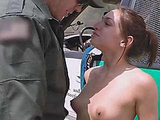 Hot Teen Sara Luvv Gets Fucked At The Border