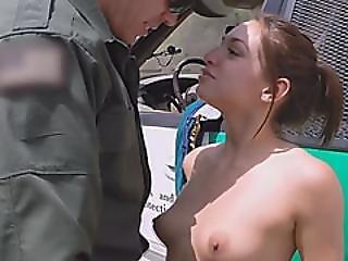Hot Teen Sara Luvv Gets Fucked At The Border