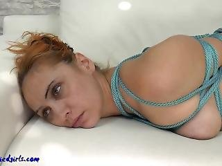 Hogtied And Ballegagged