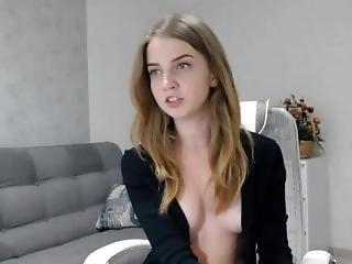 bionda, Adolescente, webcam