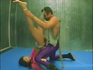 Lucy Lee Caged Dirty Sex Wrestling 1