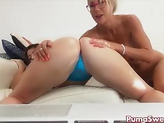 Puma Swede & Sophie Dee Fucking Sucking Big Tit Milf Camshow Multiple Cum!