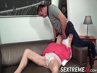 Saksalainen mummo anaali porno