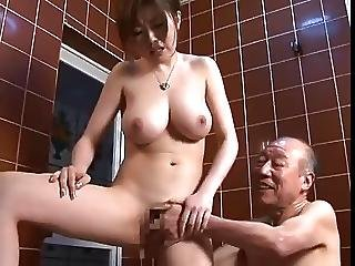 Old Man And Pretty Girl Sexy Japanese Rio