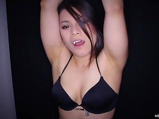 Brunette, Fetish, Vampire