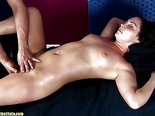 Brittany Shae Moans And Cums