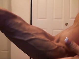 Angela Takes Vascularity To The Extreme