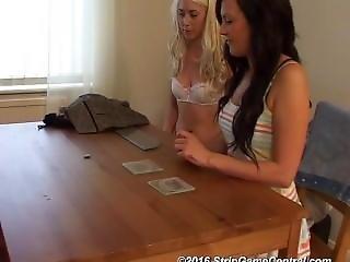 Bex, Debz & Charlotte Play Strip Coin Toss