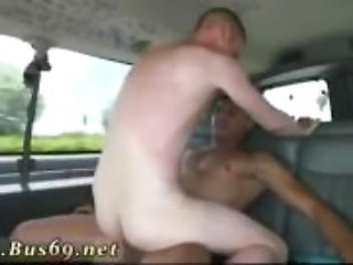 Straight men gangbang gay guy Riding Around