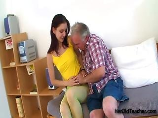 Victoria With Old Teacher