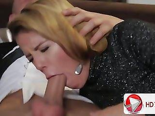 Samantha Gets Fucked While An Old Man Watches