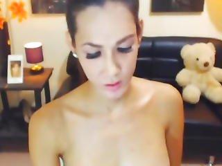 Huge Boobs Pretty Asian Tranny