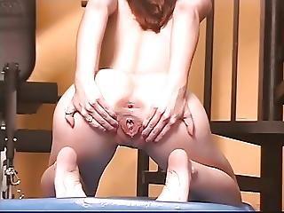 Brunette, Masturbation, Pussy, Sex, Spreading, Teen, Toys