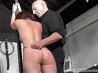 Bizarre Bondage And Amateur Spanking A Whipped Amateur Slave