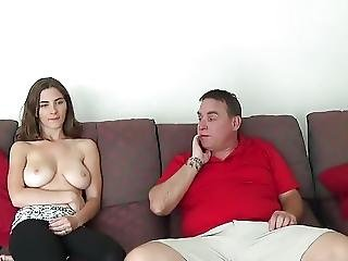 Not Stepfather Seduced By Not Real Daughter