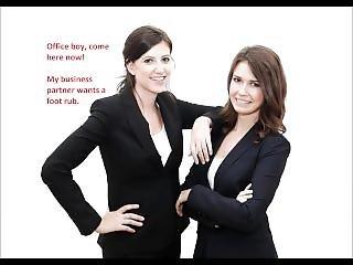 Businesswoman Femdom #1 - Reprogramming For Men