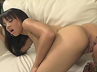 Two Amazingly Hot Lesbian Ebonies Getting Wild With Eachothers