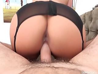 Phoenix Marie Riding A Big Fat Cock Pov