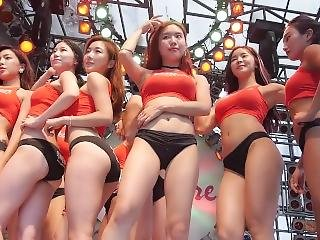 amatõr, ázsiai, segg, gyönyörû, nagy segg, nagy mell, híresség, kóreai, szexi, hergelés, Tini