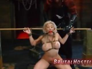Breast bondage xxx Big-breasted towheaded