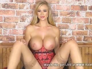 Sophie Reade Big Tits Tease