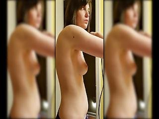 Wife Topless Dance While Getting Ready