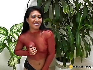 Pin With Gentle Fingers Her Pussy