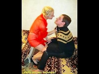 Slideshow With Finnish Captions: Mom Natalya 1