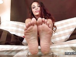 Stunning Czech Centerfold Is Opening Up Shaved Quim And Stuffs Bizzare Toy Deep Inside Having The Best Climax